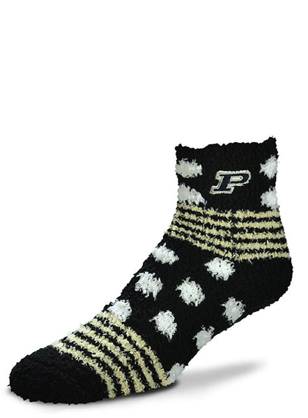 Ladies Purdue Homegater Sleep Soft Sock, Click to See Larger Image