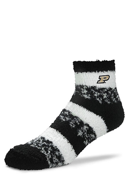 Ladies Purdue Pro Stripe Sleep Soft Sock, Click to See Larger Image