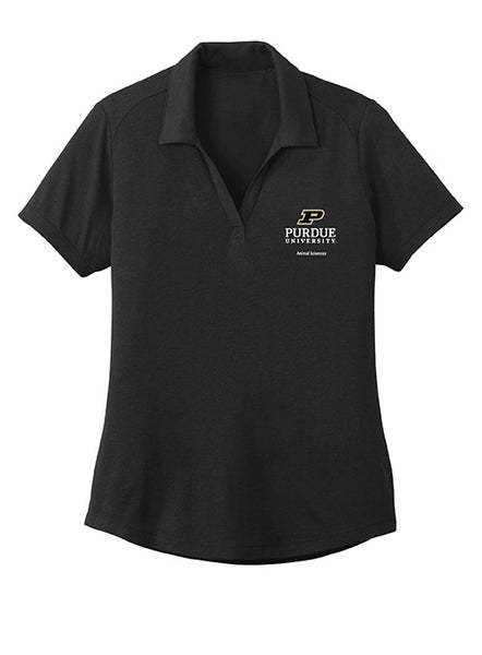 Ladies Purdue Animal Sciences Polo, Click to See Larger Image