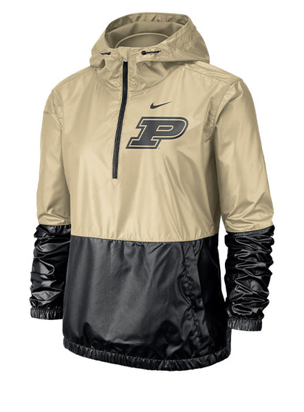 Ladies Purdue Nike Anorak Jacket, Click to See Larger Image
