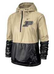 Ladies Purdue Nike Anorak Jacket