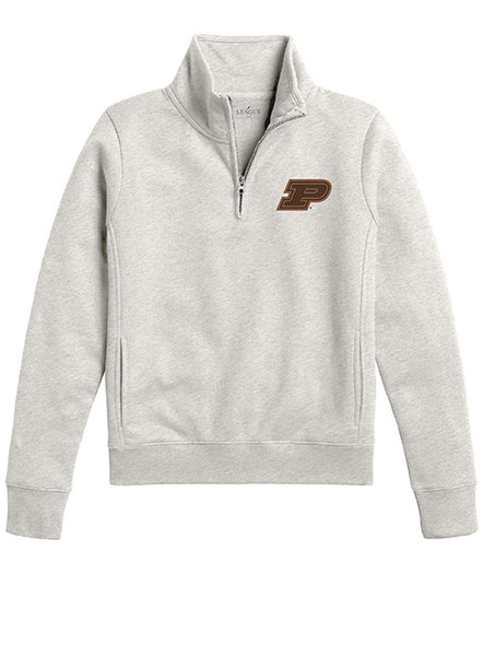 Ladies Purdue Academy Quarter Zip Jacket, Click to See Larger Image