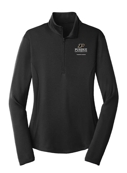 Ladies Purdue Polytechnic Institute 1/4 Zip Jacket, Click to See Larger Image