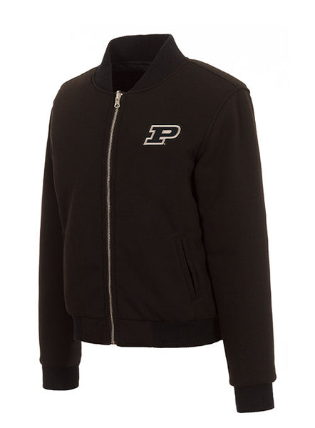 Ladies Purdue Full Zip Reversible Fleece Jacket, Click to See Larger Image