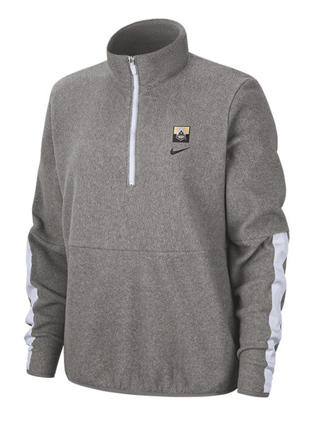 Ladies Purdue Nike Ultra Plush Fleece Half Zip, Click to See Larger Image