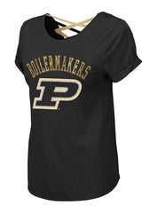 Ladies Purdue Milan Strappy T-Shirt