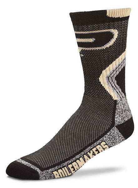 Purdue Fandom Socks, Click to See Larger Image
