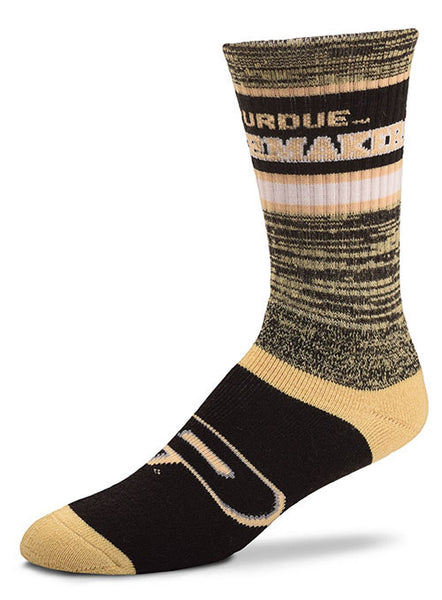 Purdue Double Deuce Socks, Click to See Larger Image