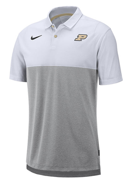 Purdue Nike Dri-FIT® Breathe Polo, Click to See Larger Image