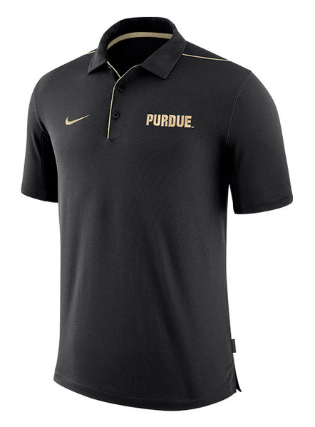 Purdue Nike Dri-FIT® Team Issue Polo, Click to See Larger Image