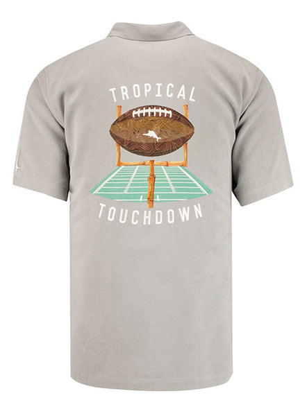 Purdue Tommy Bahama Tropical Touchdown Camp Shirt, Click to See Larger Image