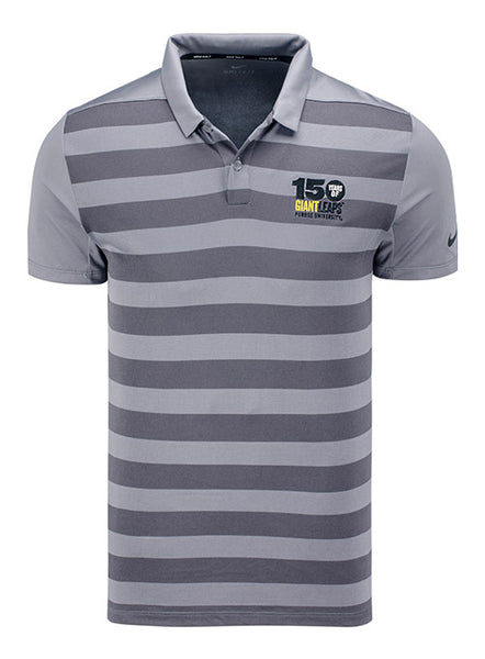 Purdue Nike 150th Anniversary Stripe Polo, Click to See Larger Image