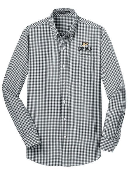 Purdue College of Education Woven Shirt, Click to See Larger Image