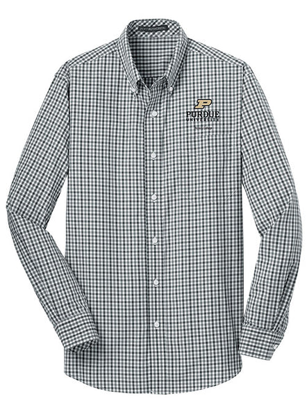 Purdue Honors College Woven Shirt, Click to See Larger Image