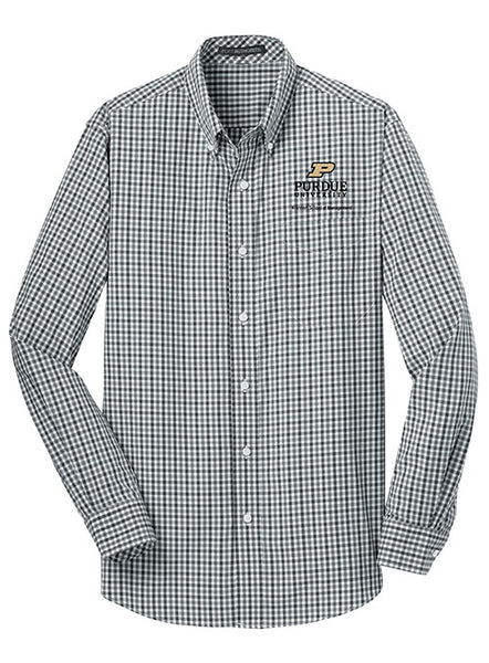 Purdue Krannert School of Management Woven Shirt, Click to See Larger Image