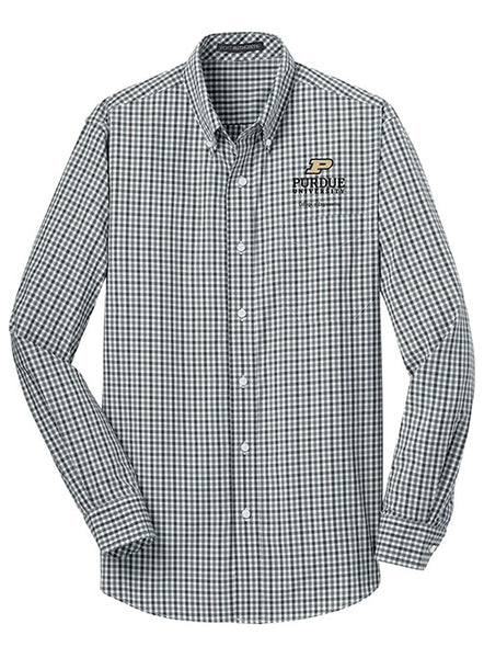 Purdue College of Engineering Woven Shirt, Click to See Larger Image