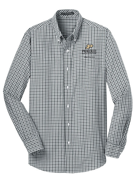 Purdue College of Agriculture Woven Shirt, Click to See Larger Image