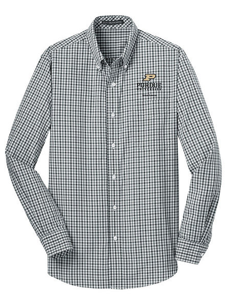 Purdue Animal Sciences Woven Shirt, Click to See Larger Image