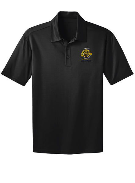 Purdue Butcher Block School Polo, Click to See Larger Image