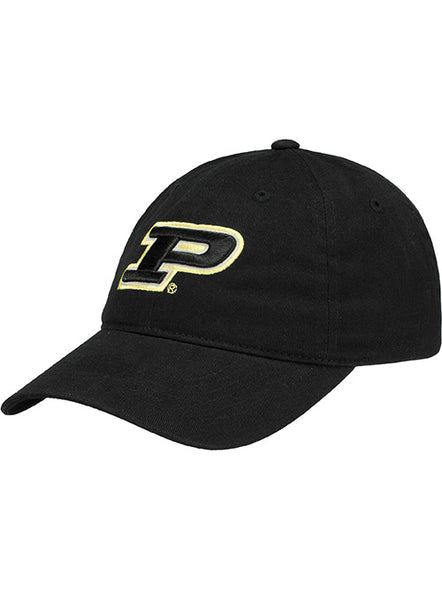 Purdue Logo Unstructured Adjustable Hat, Click to See Larger Image