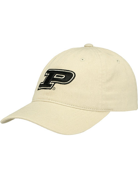 Purdue Logo Unstructured Adjustable Hat