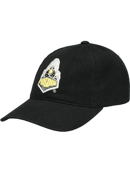 Purdue Boilermaker Special Logo Unstructured Adjustable Hat, Click to See Larger Image