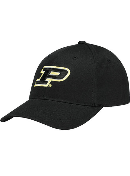 Purdue Logo Structured Adjustable Hat, Click to See Larger Image
