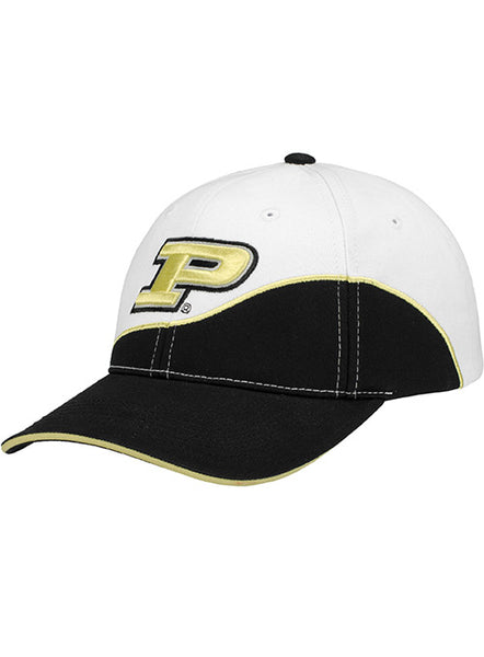 Purdue Logo Structured Adjustable Hat