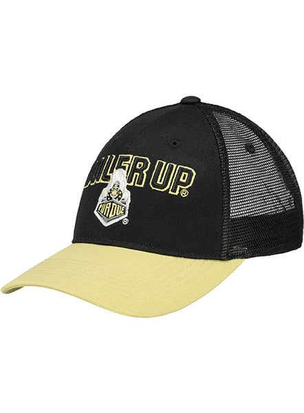 Purdue Boiler Up Meshback Structured Adjustable Hat, Click to See Larger Image