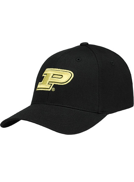 Purdue Logo Structured Flex-Fit Hat, Click to See Larger Image