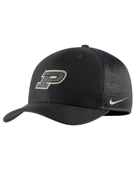Purdue Nike Classic99 Aerobill Meshback Hat, Click to See Larger Image