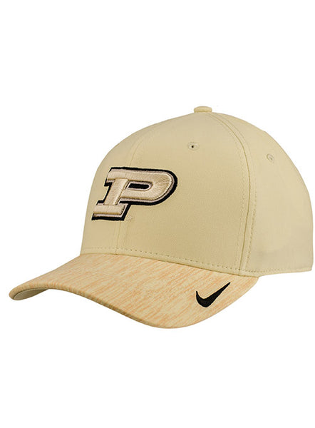 Purdue Nike Classic99 Sideline Swooshflex Hat (One Size), Click to See Larger Image