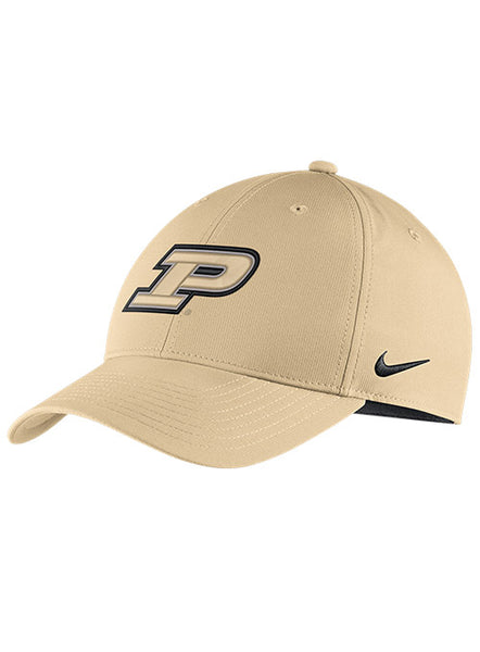 Purdue Nike Dri-FIT® Legacy91 Structured Adjustable Hat, Click to See Larger Image