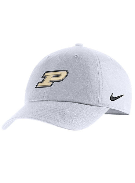 Purdue Nike Heritage86 Unstructured Adjustable Hat, Click to See Larger Image