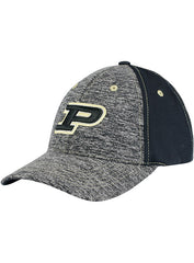 Purdue Melange Contrast Stitch Structured Adjustable Hat