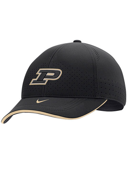 Purdue Nike Sideline Classic99 Dri-Fit® Flex Hat (One Size), Click to See Larger Image