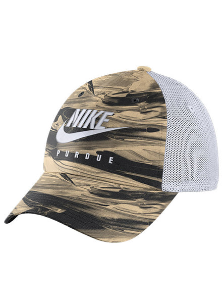 Purdue Nike Heritage86 Trucker Spring Break Hat, Click to See Larger Image