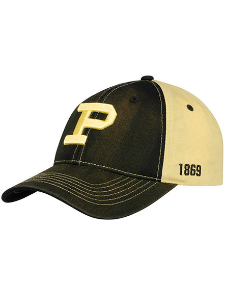 Purdue Legacy 1869 Structured Adjustable Hat, Click to See Larger Image