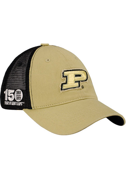 Purdue 150th Anniversary Meshback Snapback Hat, Click to See Larger Image