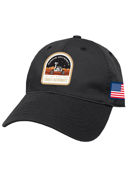 Purdue Mars Mission Unstructured Adjustable Hat, Click to See Larger Image