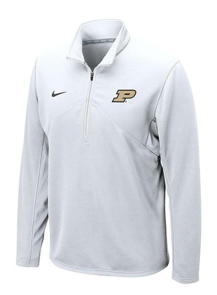 Purdue Nike Dri-FIT® Training 1/4 Zip Jacket, Click to See Larger Image