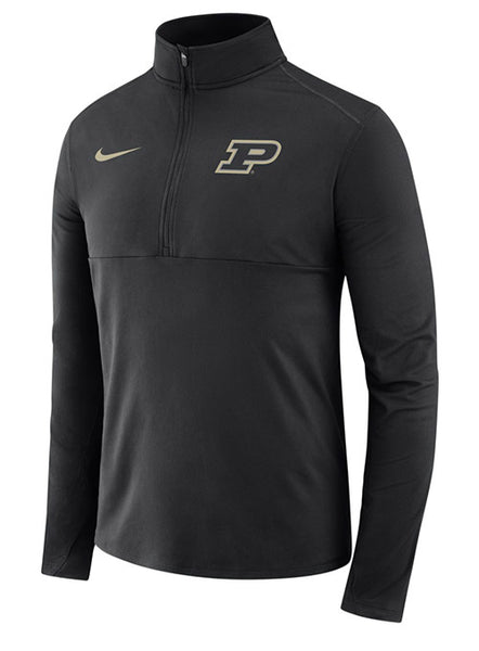 Purdue Nike Core 1/2 Zip Jacket, Click to See Larger Image