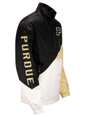 Purdue G-III Double Team 1/2 Zip Pullover Jacket
