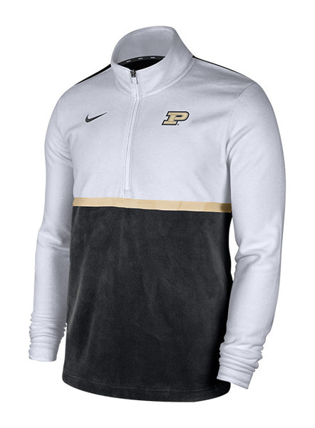 Purdue Nike Fleece 1/2 Zip Jacket, Click to See Larger Image