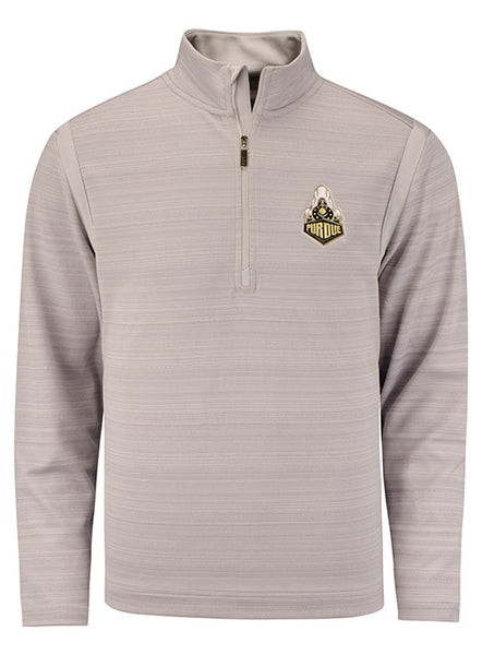 Purdue Tommy Bahama Tidal Stripe 1/2 Zip, Click to See Larger Image