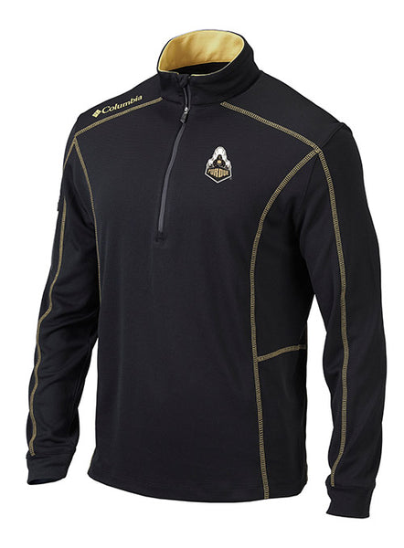 Purdue Columbia Shotgun 1/4 Zip Jacket, Click to See Larger Image