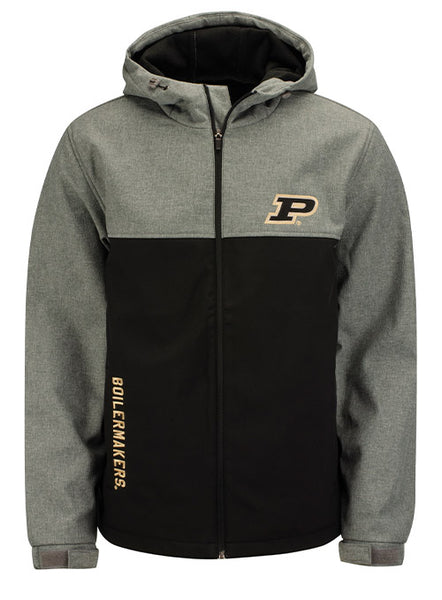 Purdue G-III Pump Fake Transitional Soft Shell Full Zip Jacket, Click to See Larger Image