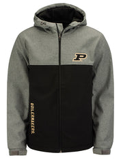 Purdue G-III Pump Fake Transitional Soft Shell Full Zip Jacket