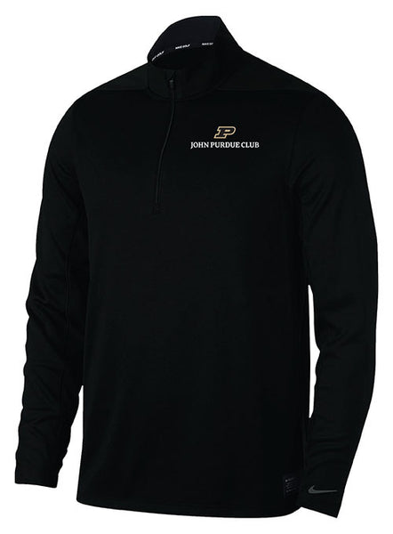 John Purdue Club Nike 1/2-Zip Dri-FIT® Jacket, Click to See Larger Image