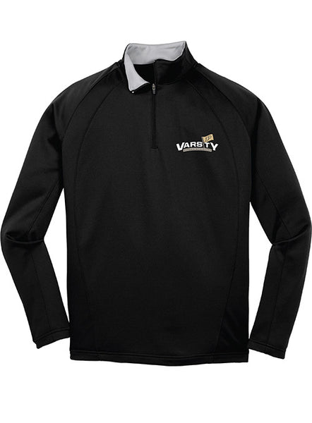 Purdue Varsity P 1/4 Zip Jacket, Click to See Larger Image